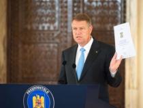 Klaus Iohannis a promulgat trei legi