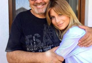 Ana Baniciu și tatăl ei, Mircea Baniciu