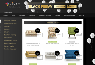 Vivre.ro Black Friday