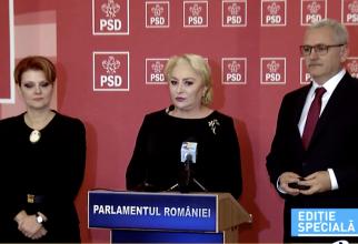 Olguta Vasilescu, Viorica Dancila, Mircea Draghici