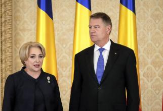 Klaus Iohannis și Viorica Dăncilă