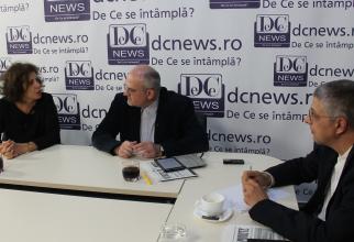 Lidia Trăușan și Octavian Buda, dezbatere la DCNews