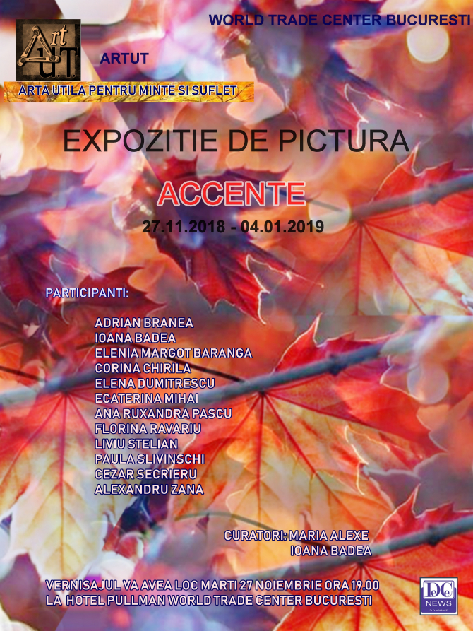 Expoziția Accente s-a lansat