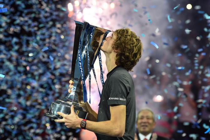 Alexander Zverev, Turneul Campionilor - foto: @ATPWorldTour