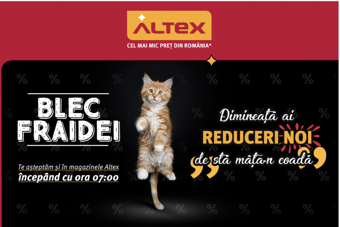 ALTEX Black Friday 2018
