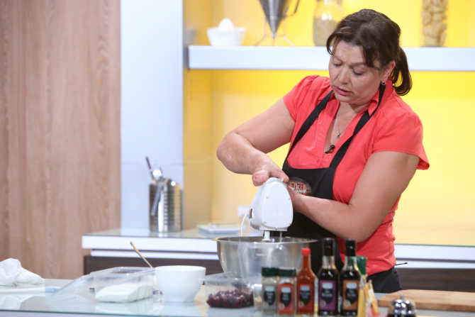 Mărioara Stănescu, Chefi la cuțite. Lecție de viață