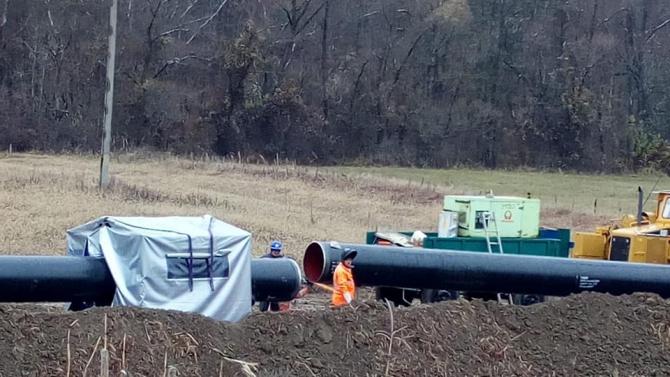 Conductă gazoduct. Proiect BRUA