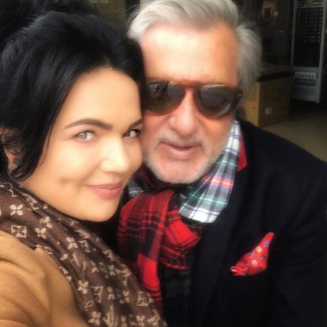 Ilie Năstase și Ioana Simion