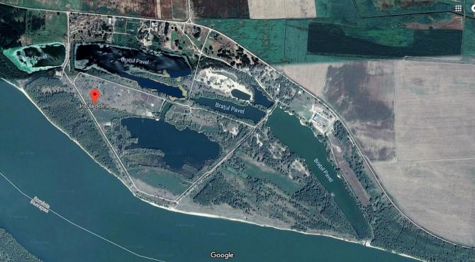Insula Belina şi Braţul Pavel au revenit în administrarea Apelor Române
