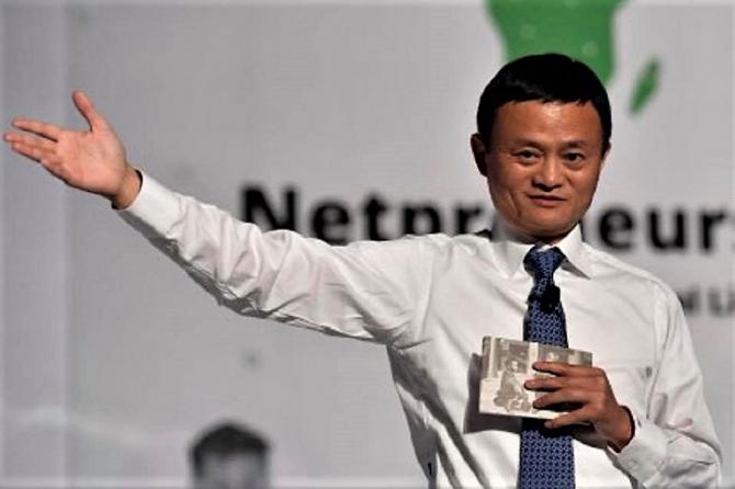 Jack Ma este membru al Partidului Comunist chinez (PCC)