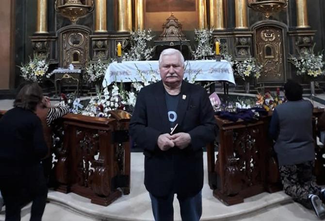Fostul preşedinte polonez Lech Walesa