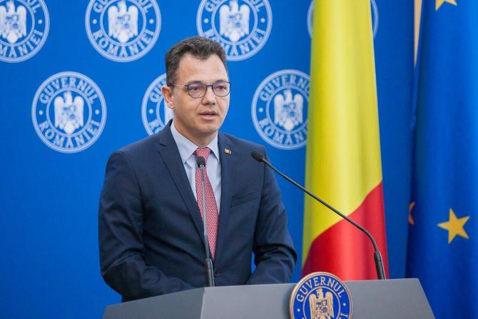 Radu Oprea, ministrul pentru Mediul de Afaceri, Comerț și Antreprenoriat