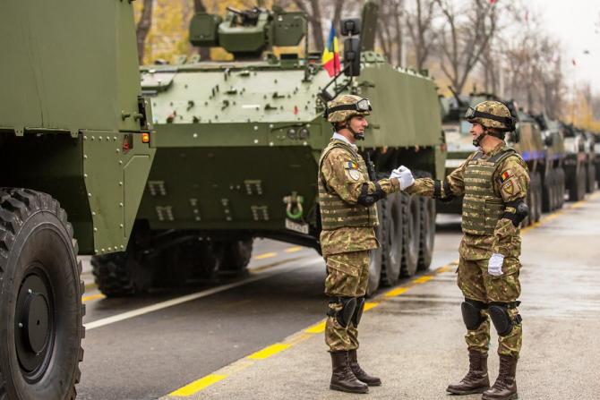 Surpriza Armatei Române la Parada Militară de 1 Decembrie. foto: Bogdan Aron Pantilimon, MApN