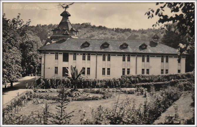 Pavilionul de băi din Govora, 1939. foto: @baile.govora / facebook