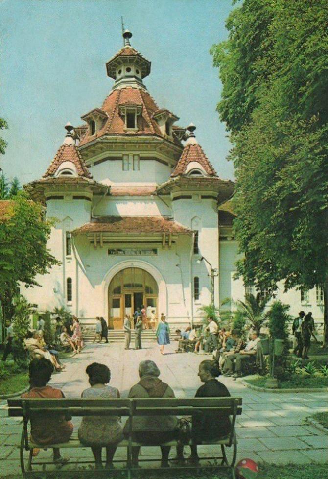 Pavilionul de băi din Govora, 1970. foto: @baile.govora / facebook