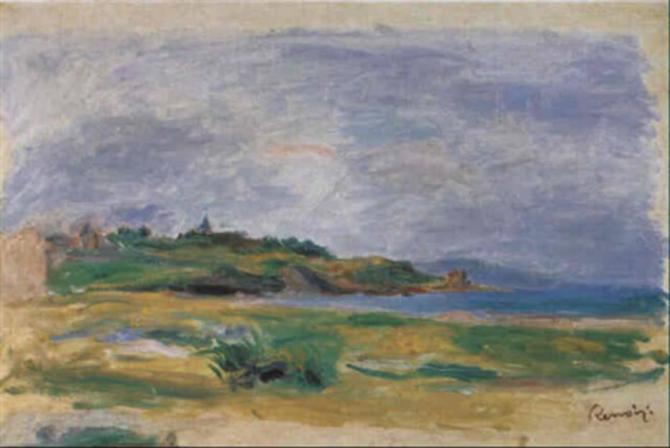 Tablou de Renoir, furat. Urma să fie vândut la licitație. foto: facebook