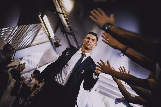 Ronaldo, Liga Campionilor, un nou record personal. foto: @ChampionsLeague