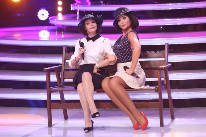 Alexandra Velniciuc, alături de Marina Voica