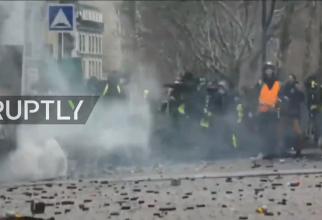 Franta, proteste