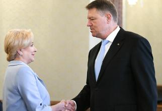 Viorica Dăncilă - Klaus Iohannis