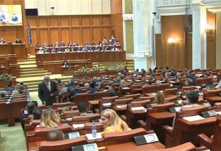 Moţiune de cenzură - vot în Parlament.