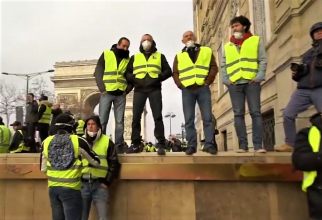 'Vestele galbene', date oficiale. Numărul protestatarilor și al arestărilor