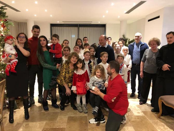 Ajunul Crăciunului în familia fostului președinte, Traian Băsescu