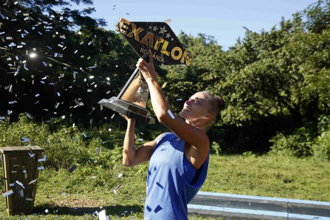 Beatrice Olaru, marea câștigătoare a sezonului 2 Exatlon