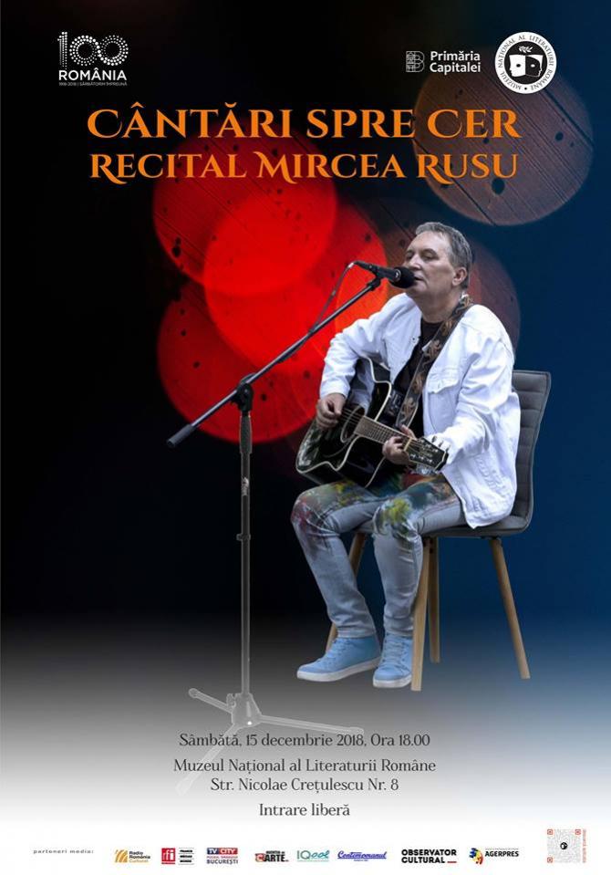 Cântări spre cer - concert Mircea Rusu