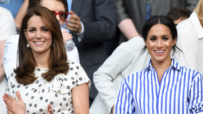Kate Middleton și Meghan Markle