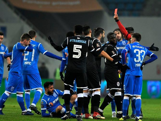 Universitatea Craiova - Gaz Metan Mediaş scor final, Liga I