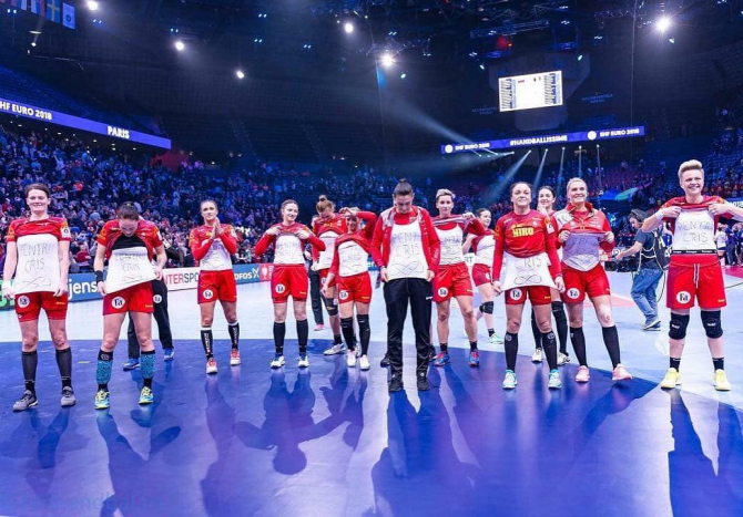 Echipă handbal feminin