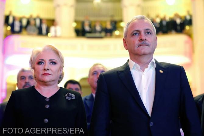 Viorica Dăncilă - Liviu Dragnea