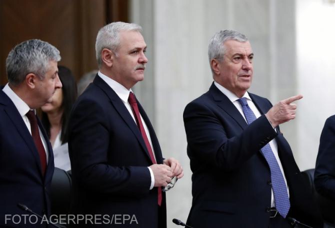 Liviu Dragnea, Călin Popescu-Tăriceanu