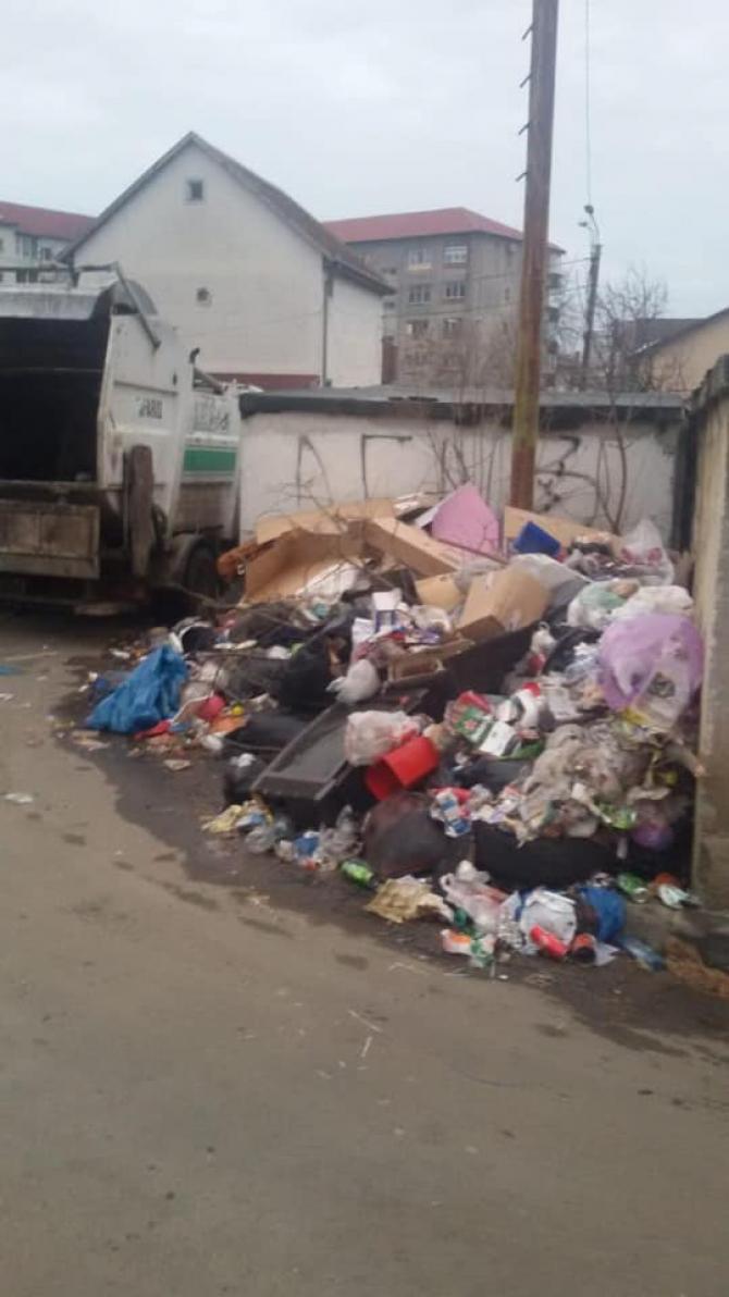 """Primarul Nicolae Robu a postat pe Facebook fotografii din """"scandalul gunoaielor"""""""