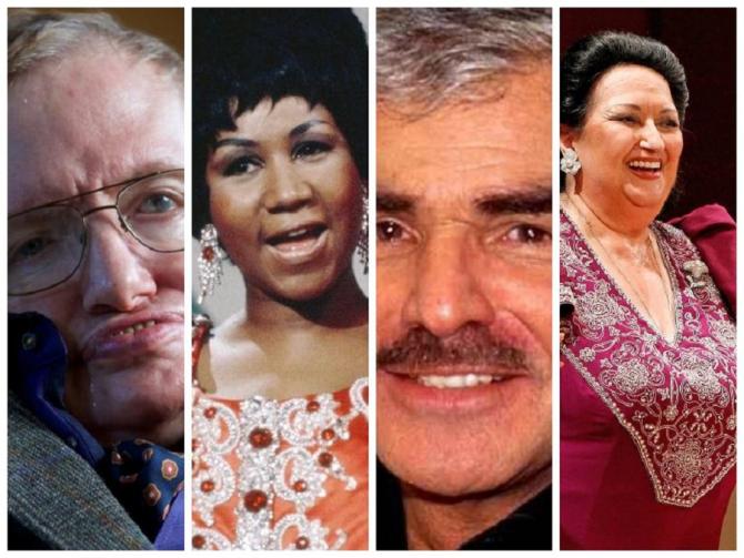 Personalități internaționale care ne-au părăsit în 2018