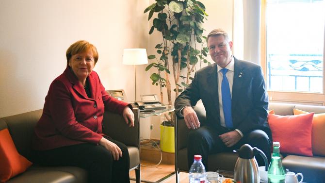 Iohannis - Merkel