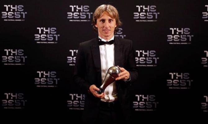Balonul de Aur - Bonus consistent pentru Modric. foto: @ModricLuka10