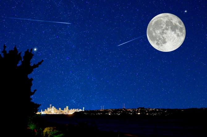 Solstiţiul de iarnă - fenomene celeste, în noaptea de vineri spre sâmbătă