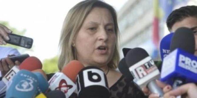 Mihaela Iorga Moraru la Secția de Investigare a Infracțiunilor din Justiție
