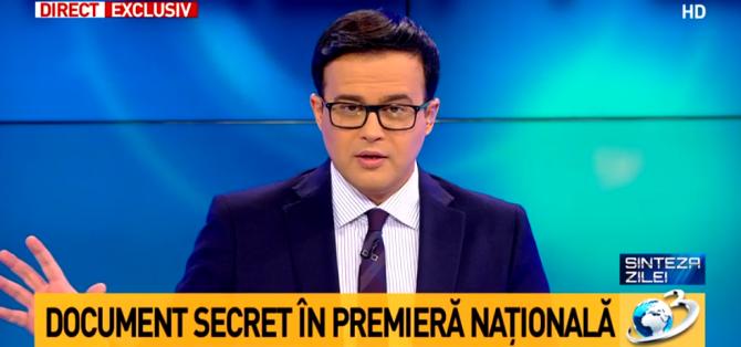 Mihai Gâdea aruncă BOMBA. Notă informativă despre Dragnea pentru Juncker
