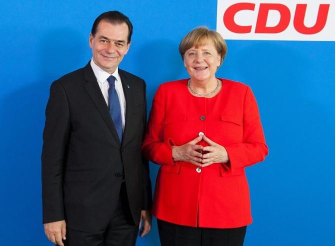 Ludovic Orban, la congresul CDU. Pe cine susține în locul Angelei Mekel