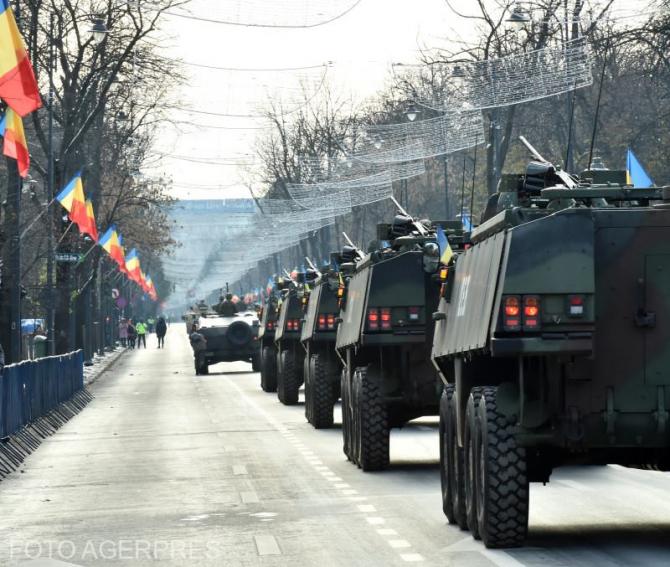 Paradă 1 Decembrie - București