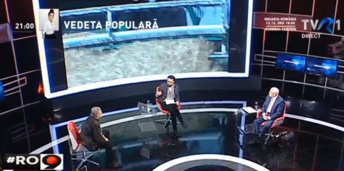 Ministrul Daea, cu două genți în emisiunea lui Cristache: Vi le las aici