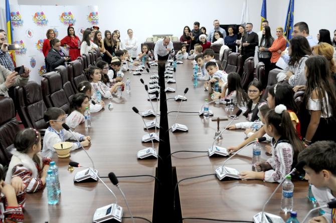 Daniel Băluță a provocat elevii  pentru a lua decizii referitoare la Sectorul 4