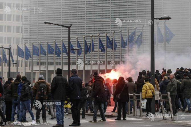 Protest Bruxelles