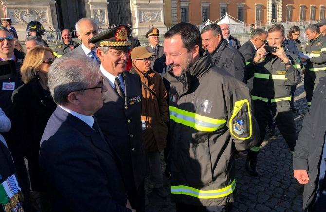 Salvini, mesaj pe Twitter. Arestări compromise