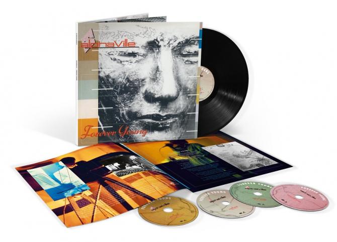 'Forever young' - Alphaville. Album remasterizat, înregistrări inedite. foto: facebook