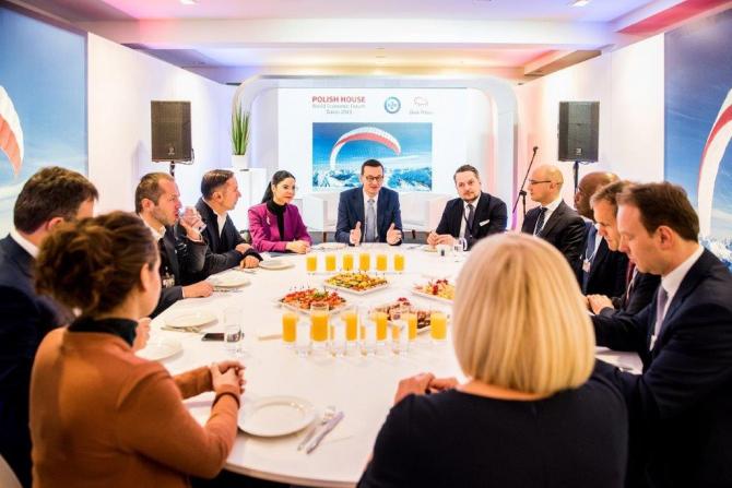 Ana Birchall, la Forumul Economic Mondial de la Davos