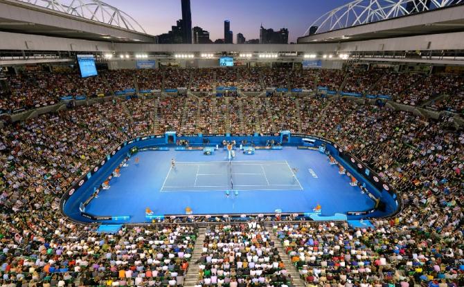 Australian Open, turneu Melbourne